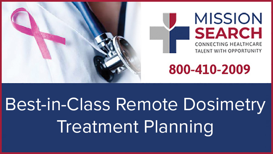Best In Class Remote Dosimetry Treatment Planning