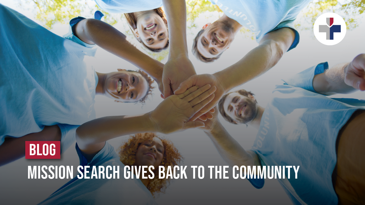 Mission Search Gives Back